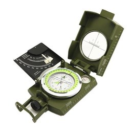 $enCountryForm.capitalKeyWord Australia - EDC Outdoor Compass With Hook Multi Function Army Green Scale Survival Noctilucent Hiking Camping Portable Tiltmeter Hot Sale 42jgD1