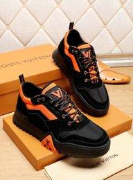 moda sapatilhas ocasionais 2020 dos homens novos qk altos calçados casuais dos homens dos homens de qualidade Design Sapatilhas de luxo em Promoção