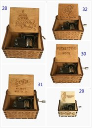 Harry Potter Wooden Music Box Game of Thrones Music Box Theme Handmade Engraved Music Box Chirstmas Decoration Novelty Items by boomboom on Sale