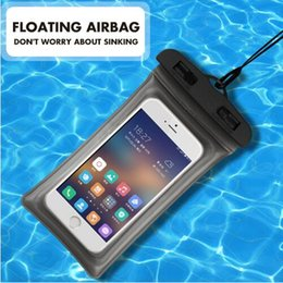 Phone Pouch Dynamic Waterproof Bag Case Universal 6.5 Inch Mobile Phone Bag Swim Case Take Photo Under Water For Iphone 7 Full Protection Cover Case High Resilience Phone Bags & Cases