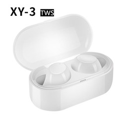 xy box NZ - XY-3 tws Wireless Bluetooth 5.0 Stereo Headset Waterproof Sport Headphone In-Ear Earphones Earbuds With Charging Box for Smartphone