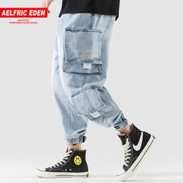 $enCountryForm.capitalKeyWord NZ - Aelfric Eden Hip Hop Joggers Men 2018 New Design Pockets Casual Pants High Street Trousers Elastic Waist Skateboard Sportswear