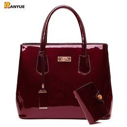 $enCountryForm.capitalKeyWord Australia - Luxury Patent Leather Bags Women Handbags Shoulder Tote Bag Female Messenger Crossboday Bags Famous Brand Set Sac A Main Femme