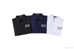 Cheap Polo Tops Australia - CHEAP Brand Designers US Fashion Men Polo Shirt American Polos Cotton Summer Mens Casual Polo Shirts Striped Tee Tops Size M,L,XL,XXL