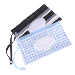 Snap Straps Australia - Carrying Case Fashion Wipes Clutch And Clean Wet Wipes Bag For Stroller Cosmetic Pouch With Easy-Carry Snap-Strap