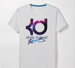 kd t shirts NZ - 2018 Brand Designer- Men s T - shirt basketball short - sleeved sportswear KD Star cotton round neck loose large size clothes Durant