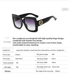 d152ea8679 2019 nuevas gafas de sol con polarizador de marco grande para bloquear la  moda de color UV.Dazzle, excepcional. Rejilla limpia, cómodo descanso para  la ...