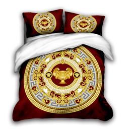 3D tasarımcı yatak kral lüks nevresim yastık kılıfı kraliçe nevresim tasarımcı yatak nevresim takımları v2 setleri