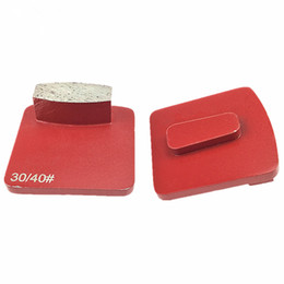 Wholesale drum machine for sale – custom Single Drum Segment Diamond Concrete Grinding Pads Scanmaskin Redi Lock Floor Pads Metal Abrasive Tools for Husqvarna Grinding Machine