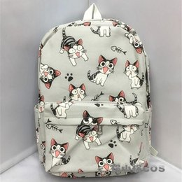 Cosplay Coins Australia - Cartoon ChiS Cat Backpack School Bags ChiS Sweet Home Anime Cosplay Cute Cat Rucksack Schoolbag For Kids Gift