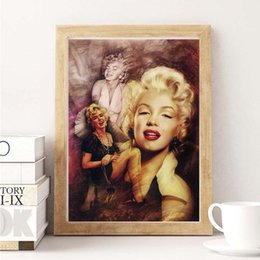 sexy figure nude Australia - Marilyn Monroe Sexy Quote Wall Art Canvas Posters Prints Painting Wall Pictures For Bedroom Modern Home Decor Accessories