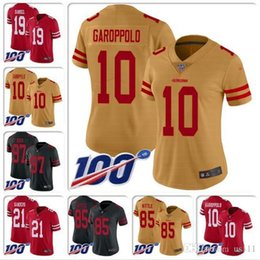 Custom sports jerseys online shopping - Mens Nick Bosa Jersey Joe Montana Steve Young Jerry Rice Deebo Samuel Jalen Hurd Ronnie Lott custom Cheap football jerseys College sports