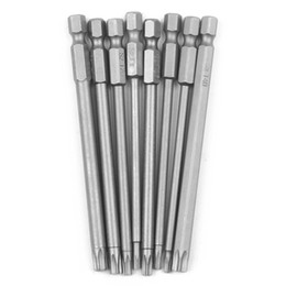 Magnetic screwdriver sets online shopping - 8 Pieces Hollow Magnetic Torx Screwdriver Bits Set Inch Hex Shank Screwdriver Electric Tools T8 T40 mm