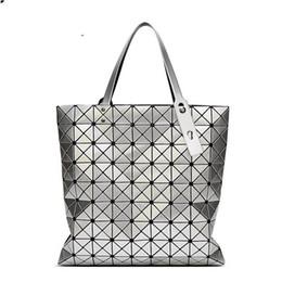 $enCountryForm.capitalKeyWord Australia - 2019 MANSURSPACE Bao Fashion Handbags Laser Geometry Diamond Shape PVC holographic bag Patchwork Women Handbag Shoulder Bag