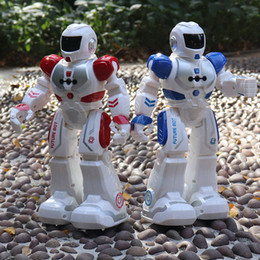 remote control dance Canada - RC Remote Control Robot Smart Action Walk Sing Dance Action Figure Gesture Sensor Toys Gift Robot USB Charging Dancing for children