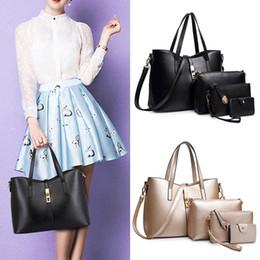Large Housing Australia - SFG HOUSE Women Handbags 5Pcs Set Female Shoulder Bags Nice Purses And Handbags Large Capacity Casual Tote Bags 5Pieces