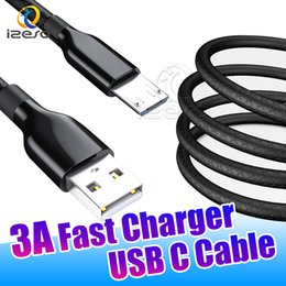 Chinese  Micro USB High Speed Charging Cable for Android Mobile Phones 1m 3ft Type C 3A Quick Charger Power Wire Data Cord izeso manufacturers