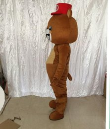 Doll Brown Australia - Brown bear propose cartoon dolls mascot costumes props costumes Halloween free shipping