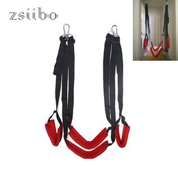 Erotic Gifts Australia - Lover Hanging Door Sexy Funny Swing Chair Private Gifts Adult Bdsm Bondage Erotic Toys For Couples Free Shipping Qqtz16 Y19052403