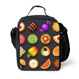 $enCountryForm.capitalKeyWord Canada - Fashion Fruit Salad Fruit Print Portable Picnic Bag Kids Insulation Lunch Bag Thermal Insulation Lunch Box Girls Small Meal Pac