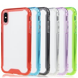 $enCountryForm.capitalKeyWord Australia - 1.5MM Acrylic Ultra Thin Transparent For iPhone xs max xr x Samsung s10plus s10e Case Crystal Clear Back Cover Rubber TPU Bumper