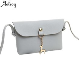 Faux Leather Satchel Messenger Bag Australia - Cheap Fashion Aelicy 2019 Women  Messenger Bag New Fashion 05527115e2d14