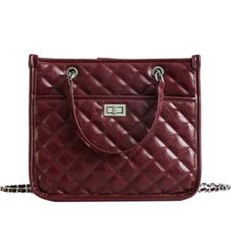 European Fashion Female Big Tote Bag 2019 New Quality Pu Leather Women s  Designer Handbag Large Handbags Chain Shoulder Bags f0fbc5261ae83