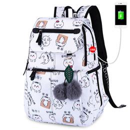 $enCountryForm.capitalKeyWord Australia - Fabric Waterproof Frinting School Backpack Children School Bags For Girls Student Girl Cute Schoolbag Travel Laptop Backpack