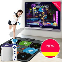 Cdragon Kablosuz Konsol Dans Tv Bilgisayar Tek Oyuncular Çift Kullanımlı Yeni Masaj Yoga Dans Makinası Sliming Oyun Ücretsiz Kargo Y200413 mat