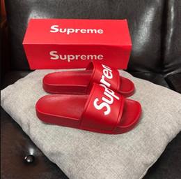 Beach Shoes 47 Australia - Leadcat Fenty Rihanna Shoes Classical Brand Women Sandals Fashion Scuffs Black Red Faux Fur Slides Color Designer Slipp 36-47