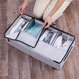 $enCountryForm.capitalKeyWord Australia - Shoe Storage Box Bins Wardrobe Zipper Organizer Drawers Shoes Boxes Bag Household Products Home Organization Accessories Items J190713