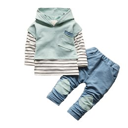 Wholesale Boy Clothing Sets New Arrival Fashion Baby Boys Shirt Fashion Clothes Sport Suit Children Bebe Boys Outfits