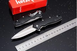 Tactical Gear Wholesalers NZ - Kershaw 1830 OSo Sweet Flipper Tactical Folding Knives 8Cr13Mov 58HRC Camping Hunting Survival Pocket Knives Utility EDC Survival Gear