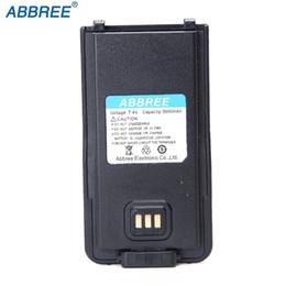 Discount ar batteries - ABBREE AR-889G 7.4v 1800mAH Li-on Battery For AR889G ZT-899G Walkie Talkie Ham Two Way Radio