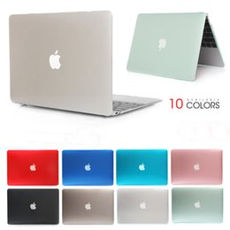 silicone laptop sleeve Australia - Crystal Laptop Case For laptop Macbook Mac Book Air Pro Retina 11 12 13 15 15.4 13.3 inch with Touch Bar Sleeve Bag Shell Cover