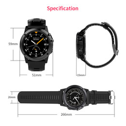 "wifi smart watch 3g Canada - GPS Smart Watch BT WIFI Smart Wristwatch IP68 Waterproof 1.39"" OLED MTK6572 3G LTE SIM Card Wearable Devices Watch For iPhone Android iOS"