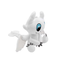 $enCountryForm.capitalKeyWord NZ - 25cm (9.84inch) How to Train Your Dragon 3 Plush Toy 2019 New movie Toothless Light Fury Soft White Dragon Stuffed Doll Christmas Gift