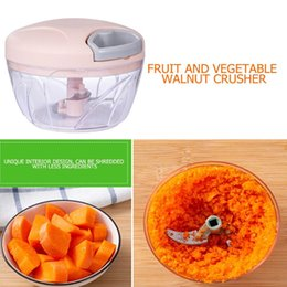 onion potato cutter NZ - Kitchen Manual Fruit Vegetable Chopper Hand Pull Food Cutter Onion Nuts Grinder Mincer Shredder Multifunction Kitchen Accessory