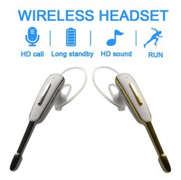 Iphone Hands Free Bluetooth Australia - Bluetooth headset wireless business Sport headset for iphone for Samsung Sony Huawei Xiaomi all Hands-free phone headset