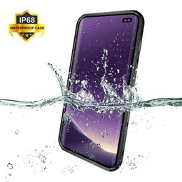 $enCountryForm.capitalKeyWord Australia - Ip68 Waterproof Case For Samsung S10e S10 S9 S8 Plus Underwater Diving Water Proof Cover Phone Case For Samsung Galaxy Note 9 8 J190702