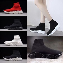 pink glitter shoes NZ - 2019 New socks sneakers men women fashion Shoes black white red glitter green pink Flat mens Trainers Runner casual shoes Man 36-45