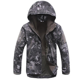 $enCountryForm.capitalKeyWord Australia - Outdoor TAD shark skin soft shell jacket camouflage hooded fleece waterproof mountaineering warm clothing Outdoor Jackets