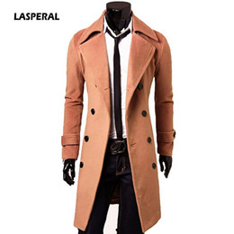 $enCountryForm.capitalKeyWord Australia - LASPERAL 2019 New Arrivals Autumn Winter Trench Coat Men Brand Clothing Cool Mens Long Coat Top Quality Cotton Male Overcoat 3XL