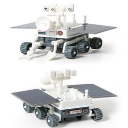 $enCountryForm.capitalKeyWord Australia - 3 in 1 DIY Solar Power Educational Building Block Toy Spaceship Lunar Exploration Fleet Transformation Robot Kits Kids Gift