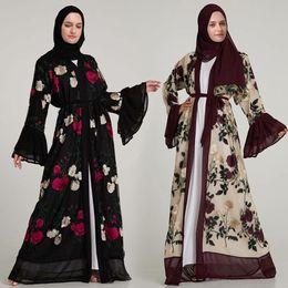 $enCountryForm.capitalKeyWord Australia - hot sell beautiful charming lace embroidery Middle eastern Muslim Women's Robe elegant temperament Women's Muslim dress