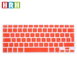 "Macbook Aluminum Australia - HRH Italian Slim Language Silicone EU Keyboard Skin Cover Protector For MacBook Air Pro with Retina 13"" 15"" 17"" Aluminum Unibody"
