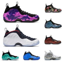 $enCountryForm.capitalKeyWord Australia - 2019 Foam one Penny Hardaway men basketball shoes USA ABALONE ISLAND GREEN PURPLE CAMO OLYMPIC White silver mens athletic sports sneakers