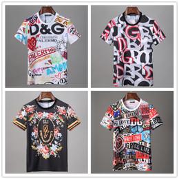 Vente en gros chemises concepteur 20SS lettre monogramme imprimé géométrique de la mode T-shirt d'été respirant T Casual Simple Hommes Femmes Rue manches courtes