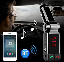Discount lg bluetooth handsfree - Bluetooth FM Transmitter Wareless MP3 Player Modulator Handsfree LCD with Dual USB Charger BC-06