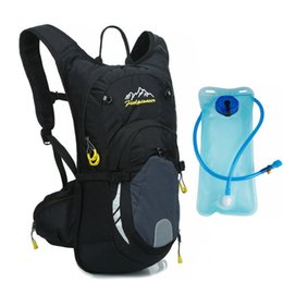 6 Color Bike Hydration Nylon Waterproof 15L Cycling Backpack +2L Water Bags  Breathable Large Capacity Mountain Bike Backpack  24701 cf7a8bb26